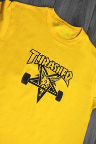 Playera Manga Corta Thrasher Magazine Skate Hombre Colores