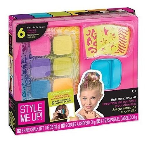 Style Me Up! Juego De Plantillas Para Cabello Chalk It Out