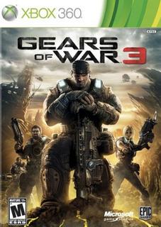 Gears Of War 3 Xbox 360 Digital
