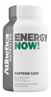 Energy Now - 210 Mg - 60 Caps - Atlhetica Nutrition