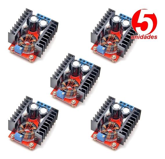 05 Conversor Dc Step-up Regulador Tensão 10a 150w De 12v 35v