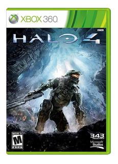 Halo 4 Para Xbox 360 En Español Fisico Excelente Estado