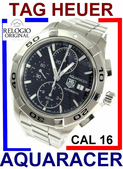 Super Tag Heuer Aquaracer 300m Calibre 16 Crono 42mm Cap2110