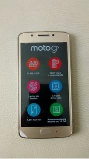 Celular Motorola G5 Dorado