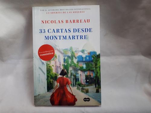 Imagen 1 de 6 de 33 Cartas Desde Montmartre Nicolas Barreau Suma Edic Grande