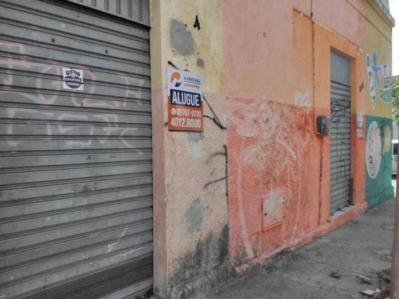 Loja Com Banheiro, Esquina Com Rua Gonçalves Ledo