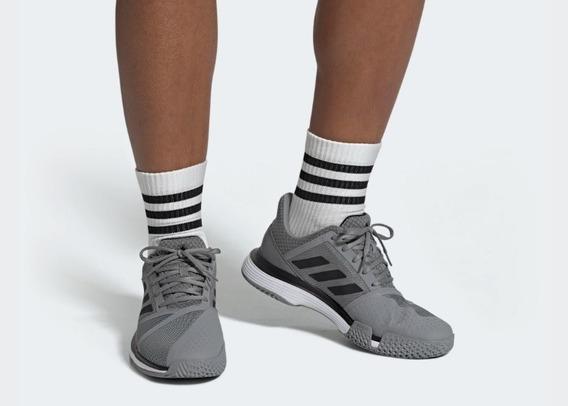 Tênis adidas Court Jam Bounce Masculino Cinza