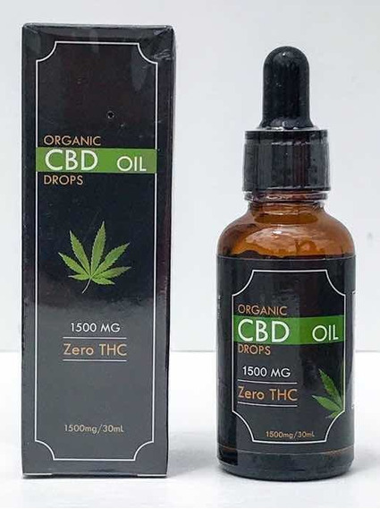 Aceite Esencial De Cañamo Hemp Orgánico Full Espectrum 1500