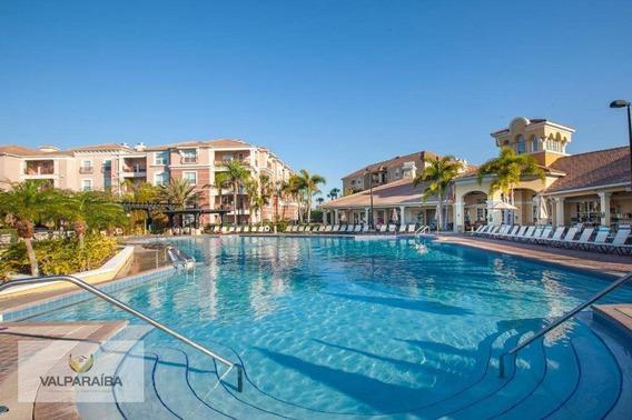 Apartamento Com 3 Dormitórios Para Alugar, 180 M² Por R$ 750,00/dia - Williamsburg - Orlando/fl - Ap0512