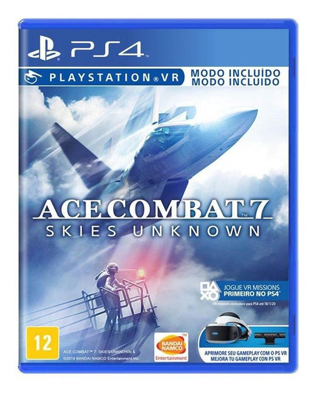 Ace Combat 7 Skies Unknown Ps4 Mídia Física Novo Lacrado