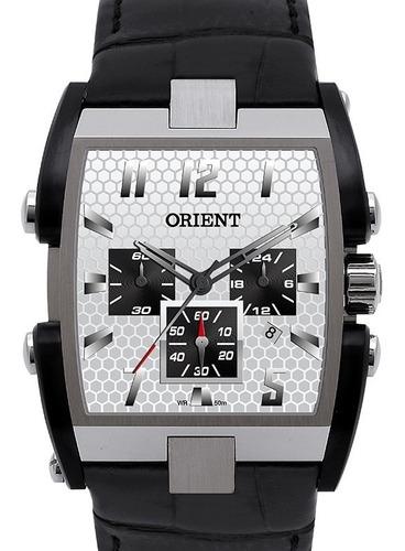 Relógio Orient Masculino Cronografo Quadrado Gbscc012 S2px