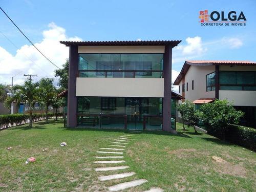 Casa Em Condomínio, À Venda - Santana - Gravatá/pe - Vl0015