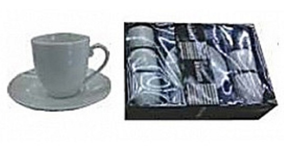 Set De 6 Tazas De Porcelana Para Té