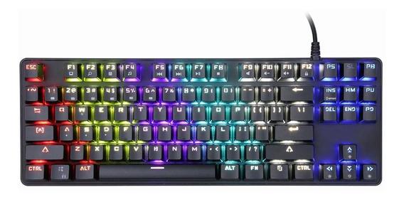 Teclado Mecanico Gamer Sentey Rainbow Switch Outemu Red