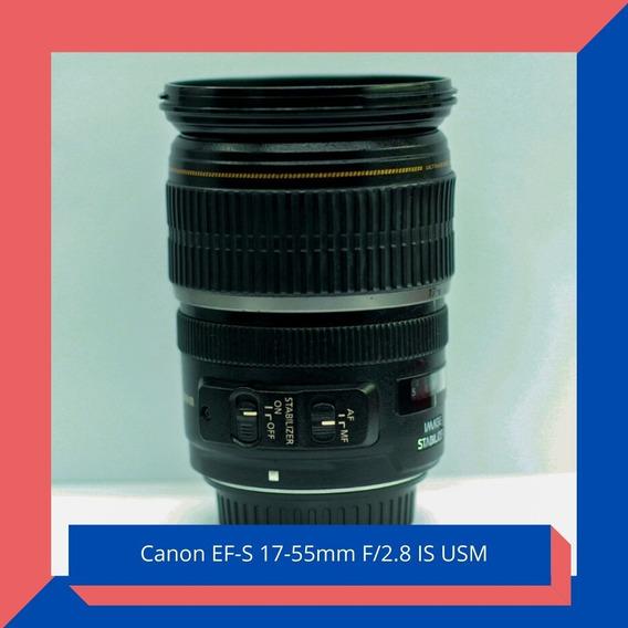 Lente Canon 17-55mm F/2.8 Ultrasonic