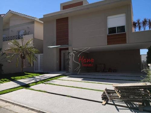 Imagem 1 de 19 de Sobrado Com 5 Dormitórios À Venda, 390 M² Por R$ 2.800.000,00 - Residencial Cinco (alphaville) - Santana De Parnaíba/sp - So0883
