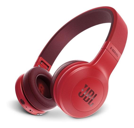 Auriculares De Diadema Jbl E45bt Rojo Bluetooth Inalámbricos