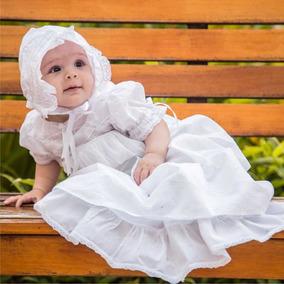 Mandrião Batizado Renda Algodão Isa Xique Xique Brasil