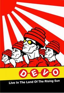 Devo Live In The Land Of The Rising Sun Dvd