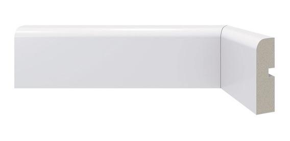 Zocalo Sustentable Blanco Prepintados Ecologico 240x7 Poliestireno Resistente Agua Marco Puerta Diseño Interior