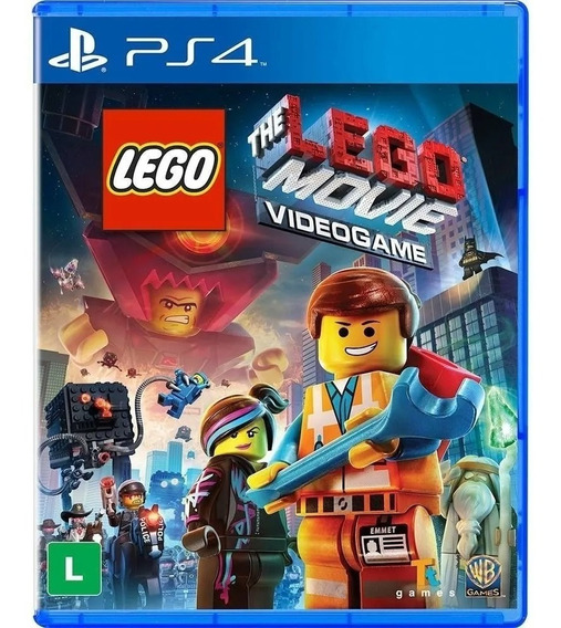 Jogo Lego The Lego Movie Ps4 Novo Mídia Física