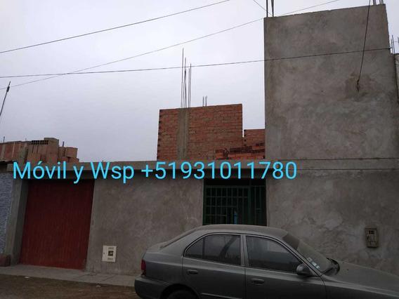 Casa En Puente Piedra A 2 Cuadras De La Panamericana Norte.
