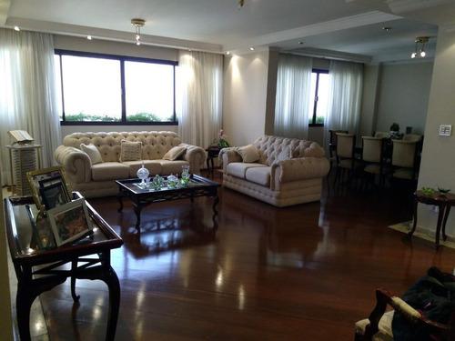 Imagem 1 de 27 de Apartamento Com 4 Dormitórios À Venda, 264 M² Por R$ 1.800.000,00 - Parque Da Mooca - São Paulo/sp - Ap4396