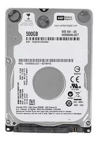 Hd 500gb Para Notebook Acer Sata Ii Western Digital
