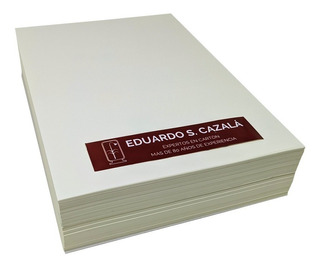 Resma Papel Bookcel 80 Gr - A5 - 1000 Hojas Lisas Ahuesado