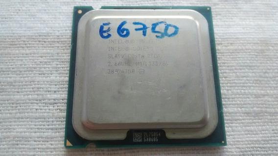 Processador Intel Core2 Duo E6750 2.66ghz 4mb 775 Fr.alt. Cr