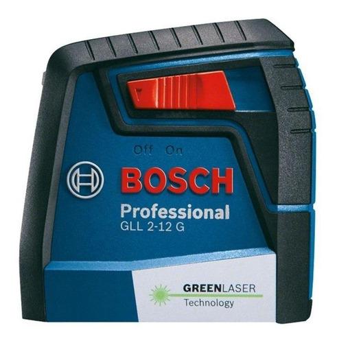 Imagem 1 de 3 de Nível laser de linhas Bosch GLL 2-12 G 12m