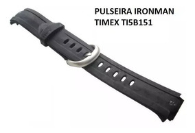Pulseira Timex Ti5b151 Ironman Borracha Preta Original