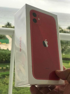 iPhone 11 128gb Rojo Caja Sellada