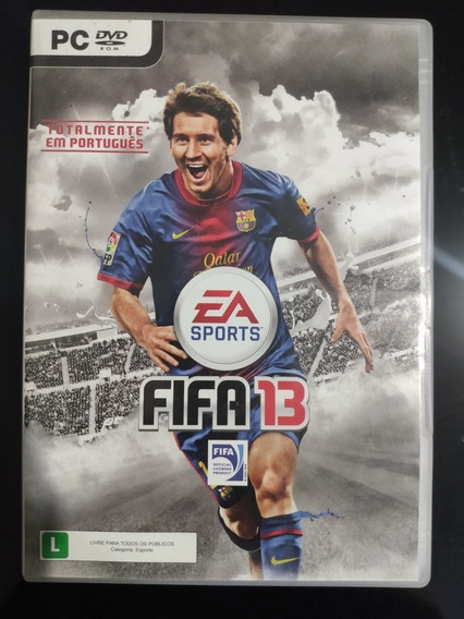 Fifa 13 - Pc Dvd Original Seminovo