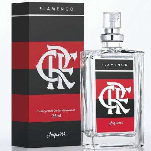 Perfume Flamengo Jequiti 25ml Série Times De Futebol
