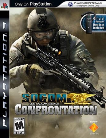 Socom Confrontation Us Navy Seals - Ps3