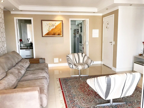 Apartamento Supera 110m², 3 Suítes, Varanda Gourmet, 2 Vagas