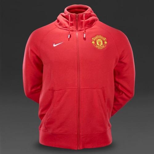 Sudadera Nike Aw77 Manchester United - Rojo