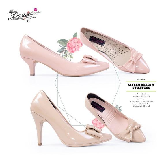 Zapatos Para Mujer Tacones Altos Y Bajos Tallas Desd 34 A 40