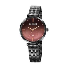 Relógio Feminino Seculus Preto