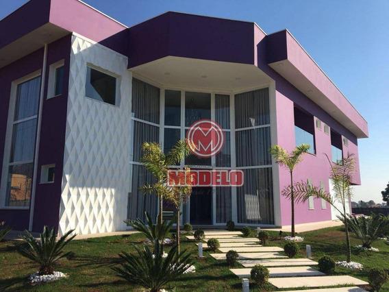 Casa À Venda, 490 M² Por R$ 1.800.000,00 - Aleluia - Cesário Lange/sp - Ca2370