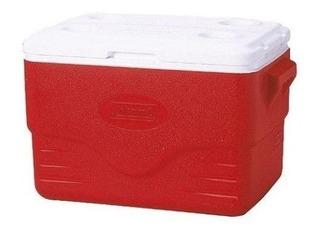 Caixa Térmica Coleman 34.0 Lt Vermelha