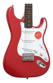 Guitarra Fender Squier Bullet Ponte Fixa Lr Sss Fiesta Red