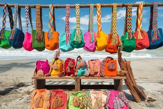 Mochila Wayuu Al Precio Justo Todos Los Colores Disponibles
