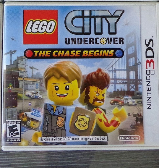 Nintendo 3ds - Lego City Undercover