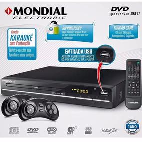 Dvd Player Game Promoção Star Ii D-14 300 Jogos Mondial 07