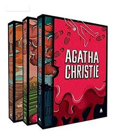 Livro Box Coleção Agatha Christie - Caixa 2 Capa Dura Luxo