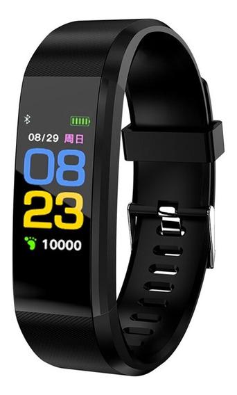 Smartwatch Smartband Reloj Inteligente Deportivo Frecuencia Presion Calorias 115
