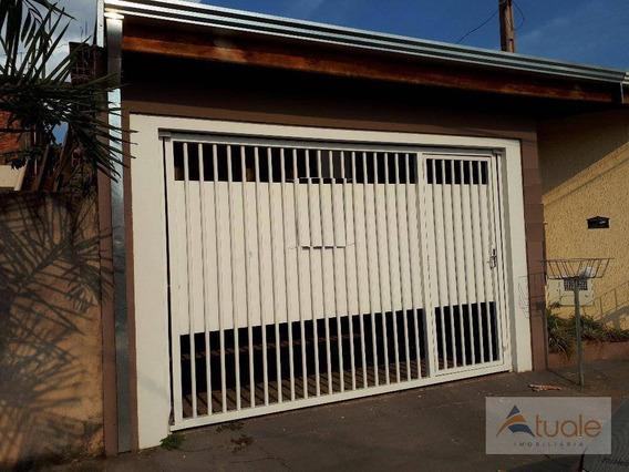 Casa Com 2 Dormitórios Para Alugar, 64 M² Por R$ 1.300,00/mês - Jardim Santa Clara Do Lago Ii - Hortolândia/sp - Ca5763