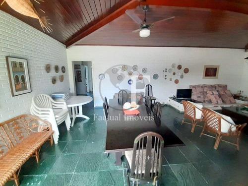 Casa Com 5 Dormitórios À Venda, 300 M² - Enseada - Guarujá/sp - Ca3063